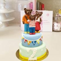 Gâteau Petit Ours Brun et Famille
