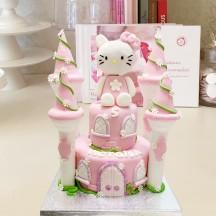 Gâteau Hello Kitty  Chateau