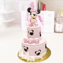 Gâteau Bebe Minnie