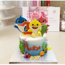 Gâteau Baby Shark