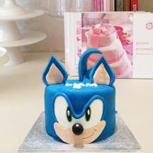 Gâteau Sonic Tete