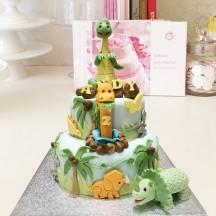 Gâteau PM 3 dinos