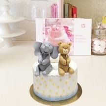 Gâteau Elephant et Ourson
