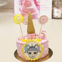 Gâteau LOL Glaces et Sucettes