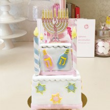 Gâteau Hannoukah