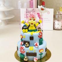 Gâteau Mario Bros Bowser