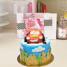 Gâteau Cars Flash Mc Queen PM