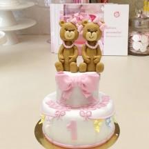 Gâteau Oursons Filles soeurs