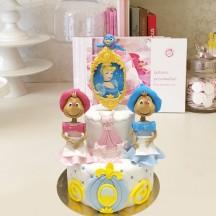 Gâteau Cendrillon Souris Filles