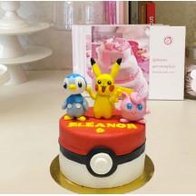 Gâteau Pokemon Personnages PM