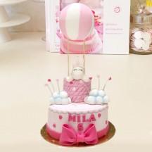 Gâteau Licorne Montfolfiere Girly
