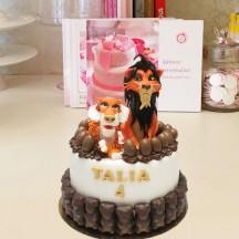 Gâteau Scar et Sher Khan
