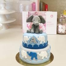 Gâteau Doudou Elephant