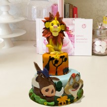 Gâteau Simba Sculpture, Timon et Pumba