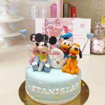 Gâteau Bebe Disney Donald