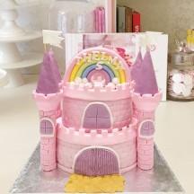 Gâteau Chateau Fort Rose