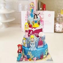 Gâteau Princesse Disney GM