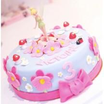 Gâteau Fée Clochette Debout