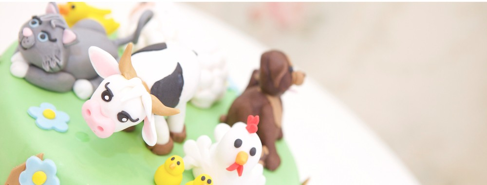 Gâteau La Ferme des Animaux