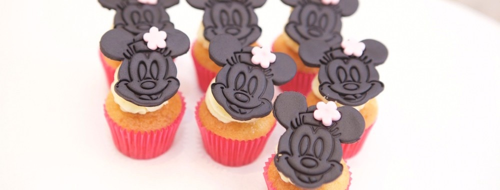 Cupcakes personnalisés Minnie