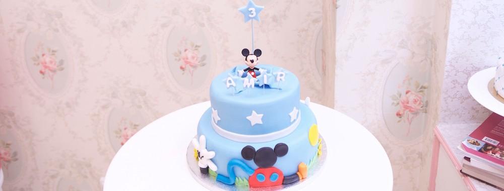 Gâteau La Maison de Mickey